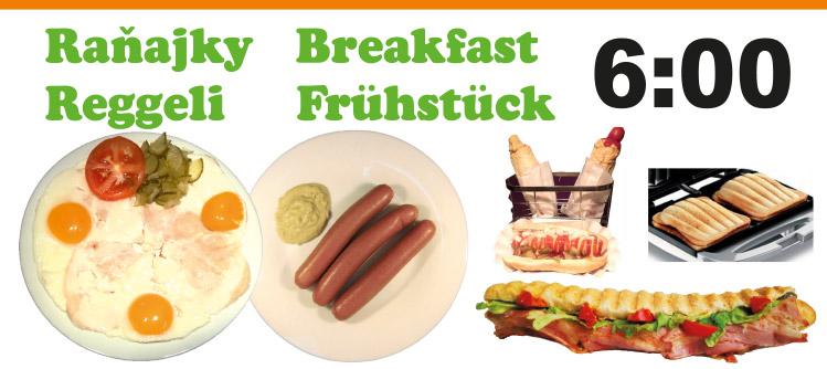 Bistro ŽST Petržalka raňajky